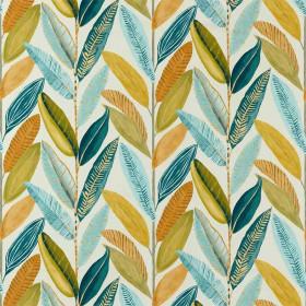 Tissu Scion Collection Esala - Hikkaduwa Mandarine - 138 cm