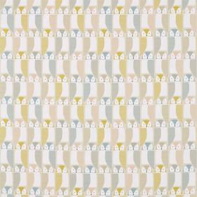 Tissu Scion Collection Pepino - Barnie Owl Miel - 139 cm