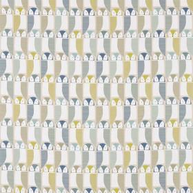 Tissu Scion Collection Pepino - Barnie Owl Limeade - 139 cm
