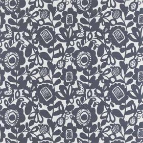Tissu Scion Collection Pepino - Kukkia Encre - 139 cm