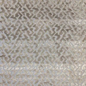 Tissu Casal - Collection Kyoto - Sake Taupe - 140 cm
