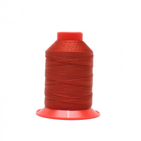 Fusette de fil Rouge foncé - SERAFIL N°20 - 600 ml - 1074 - Mercerie