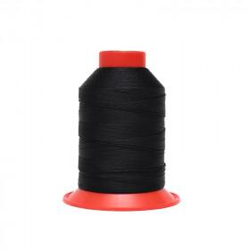 Fusette de fil Noir - SERAFIL N°20 - 600 ml - 1254 - Mercerie