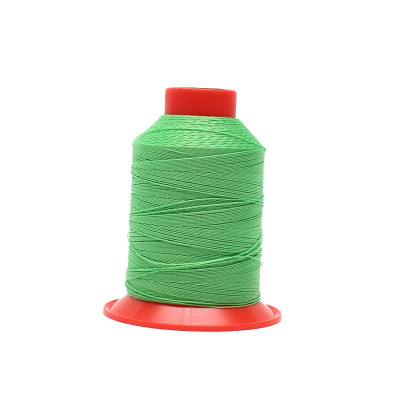 Fusette de fil Vert fluo - SERAFIL N°20 - 600 ml - 1427