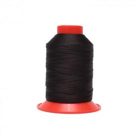 Fusette de fil Noir - SERAFIL N°20 - 600 ml - 7768 - Mercerie