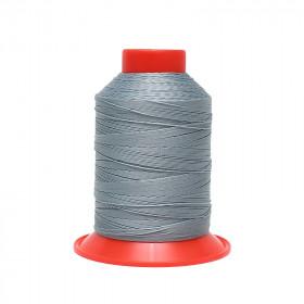 Fusette de fil Bleu gris - SERAFIL N°20 - 600 ml - 42 - Mercerie