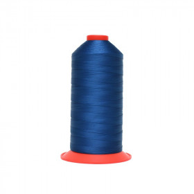 Bobine de fil Bleu foncé SERAFIL N°40 - 5000 ml - 816 - Mercerie