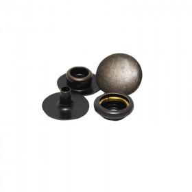 Boutons à pression 12,7mm en Acier Bronze Renaissance x 100 - Outils cuir