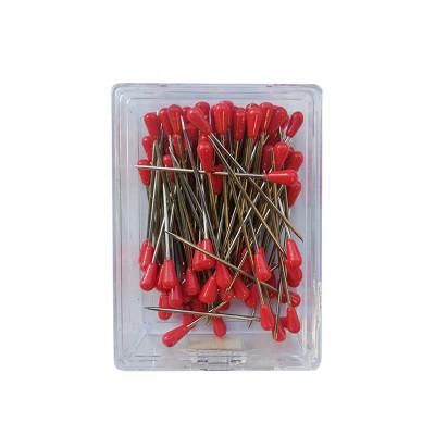 Houzeaux tête plastique Rouge 50 mm - boîte de 100