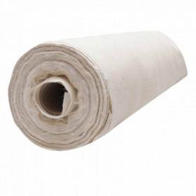 Toile de jute Blanc le rouleau de 20 mètres - Fournitures tapissier