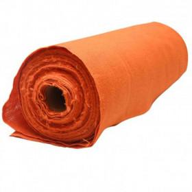 Toile de jute Orange, rouleau de 20m - Fournitures tapissier