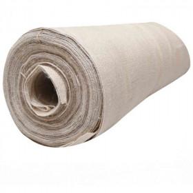Toile de jute Blanc cassé, rouleau de 20m - Fournitures tapissier
