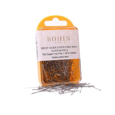 Épingles Bohin n°4 - 30 mm x 0.50 mm - 500 pièces