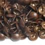 1000 Clous tapissier Bronze Vieilli Fin 11mm