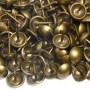 200 Clous tapissier Oxydé Perle Fer 11 mm