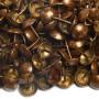 200 Clous tapissier Vieux Bronze Lentille Fer 10,5 mm