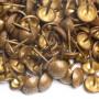 200 Clous tapissier ton clair Perle Fer 11 mm