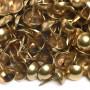1000 Clous tapissier Laitonné Perle Fer 10,5 mm