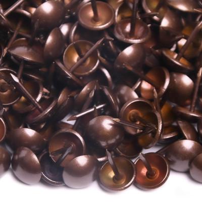 1000 Clous tapissier Anodisé Perle Fer 11 mm