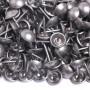 1000 Clous tapissier Alu pigmenté Perle Fer 10,5 mm