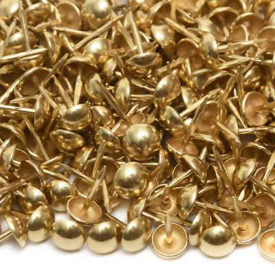 1000 Clous tapissier Laitonné Perle Fer 8 mm