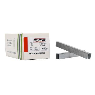 Agrafes Type V-14 ALSAFIX pour agrafeuse pneumatique - Par 10000