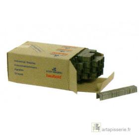 Agrafes pour agrafeuse manuelle 4, 6 et 8mm