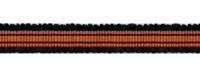 Galon, crête, lézarde de largeur 30 mm à 50 mm