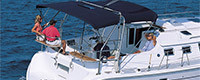 Tissu Sunbrella nautique protection
