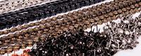 Lot de 10 bandes de clous tapissier